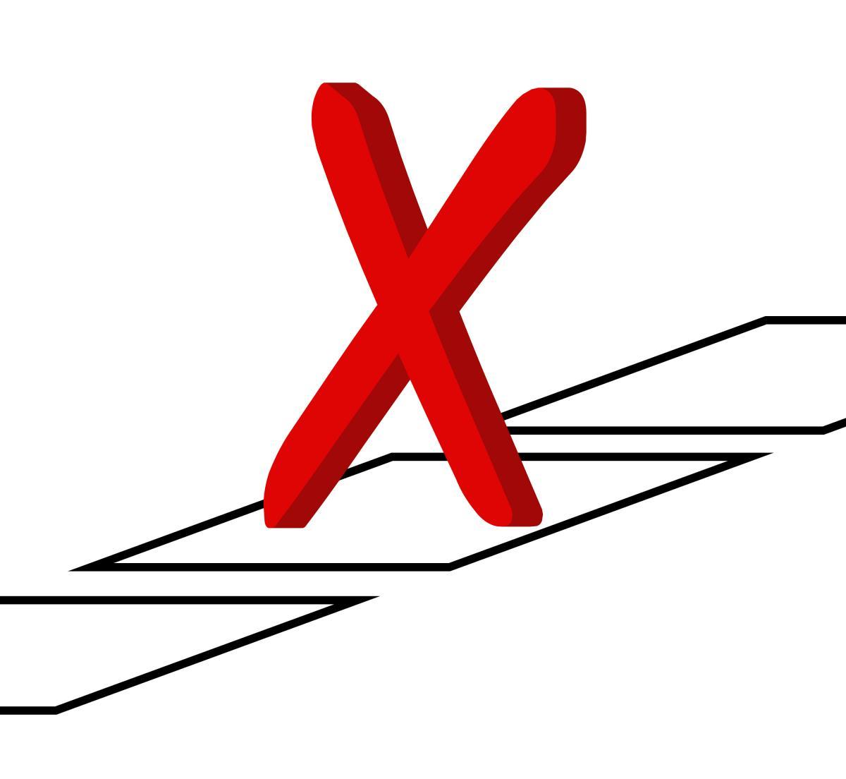 X the ballot