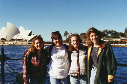 Four Duke Girls at Sydney Opera House